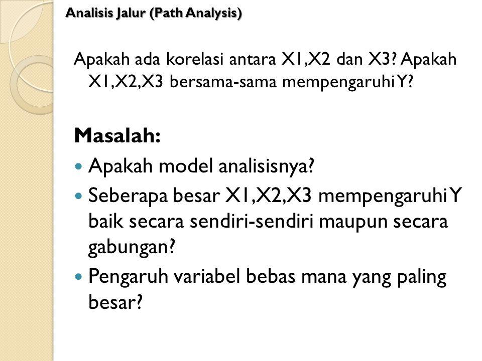 Apakah model analisisnya