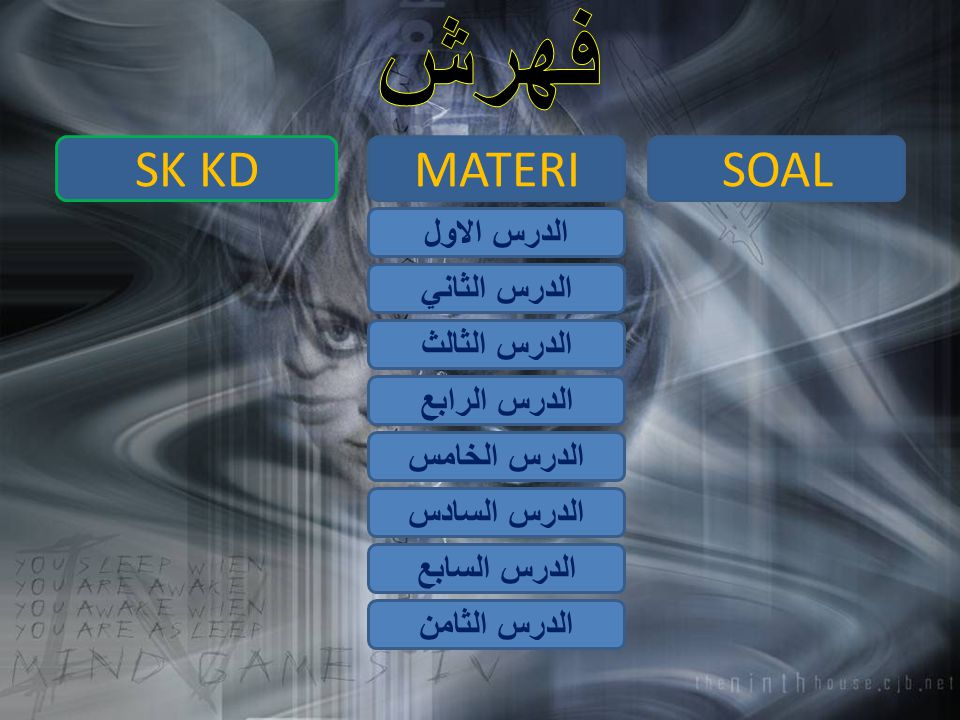 فهرش SK KD MATERI SOAL الدرس الاول الدرس الثاني الدرس الثالث