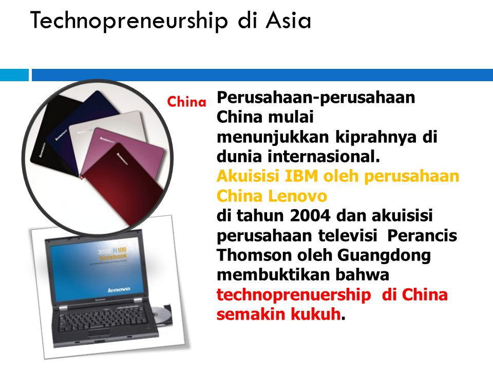 Technopreneurship di Asia