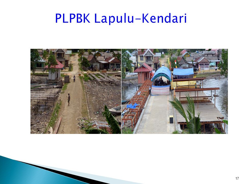PLPBK Lapulu-Kendari Penataan lokasi sentra pengolahan hasil laut