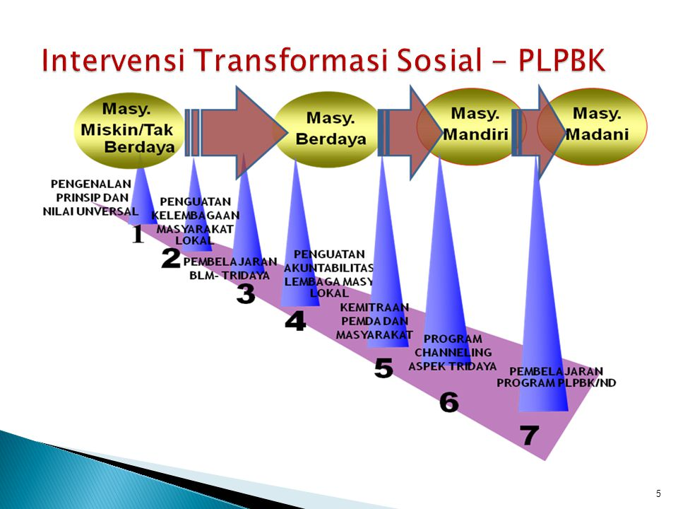 Intervensi Transformasi Sosial - PLPBK