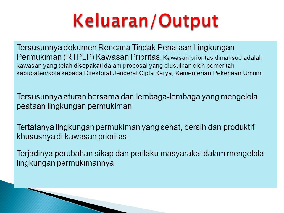 Keluaran/Output