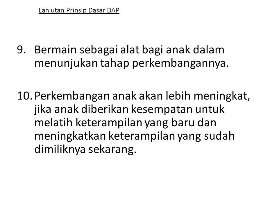 Lanjutan Prinsip Dasar DAP