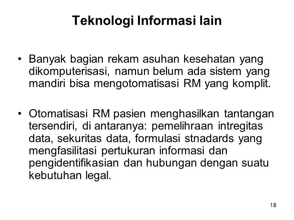 Teknologi Informasi lain