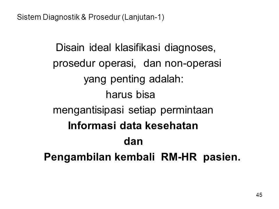 Sistem Diagnostik & Prosedur (Lanjutan-1)