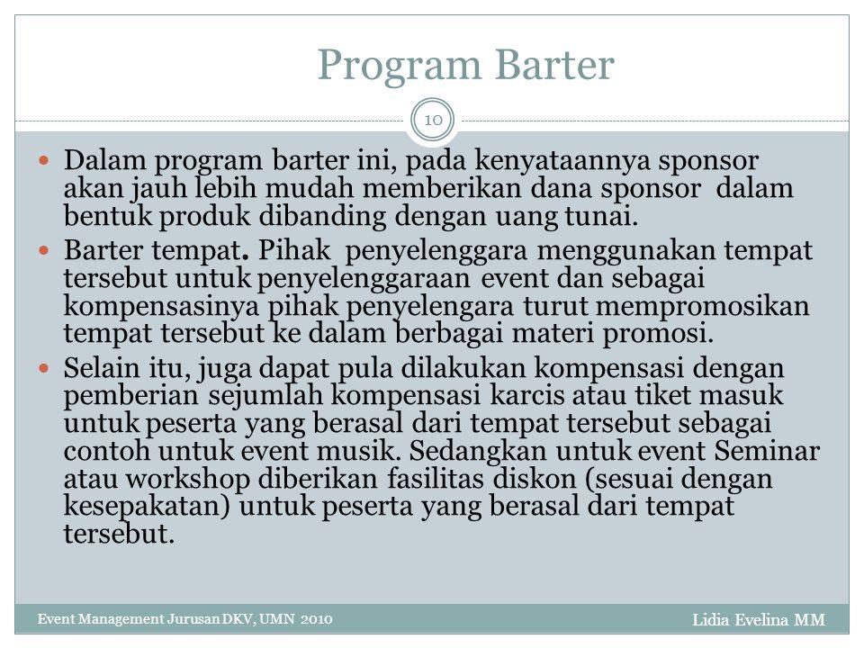 Program Barter