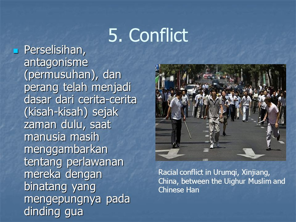 5. Conflict