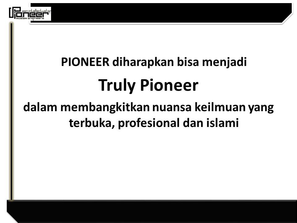 PIONEER diharapkan bisa menjadi