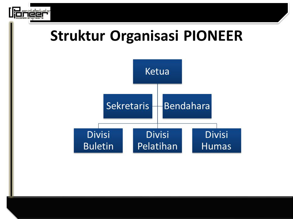 Struktur Organisasi PIONEER