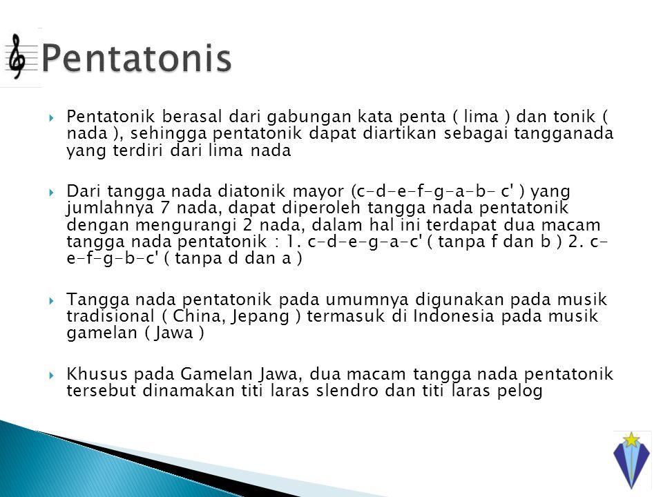 Pentatonis
