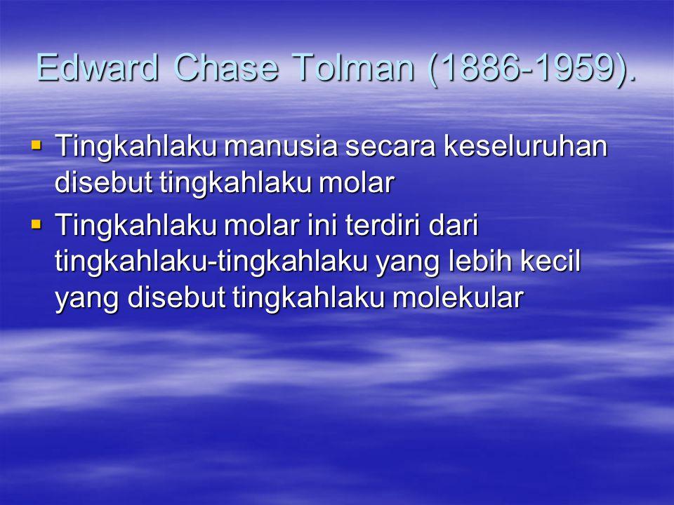 Edward Chase Tolman (1886-1959).