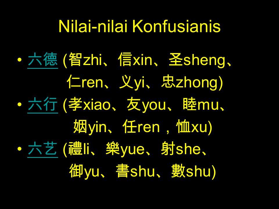 Nilai-nilai Konfusianis