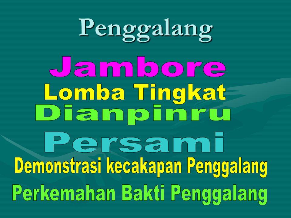 Penggalang Jambore Lomba Tingkat Dianpinru Persami