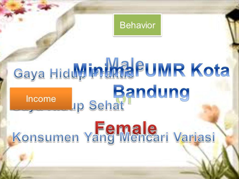 Minimal UMR Kota Bandung Konsumen Yang Mencari Variasi