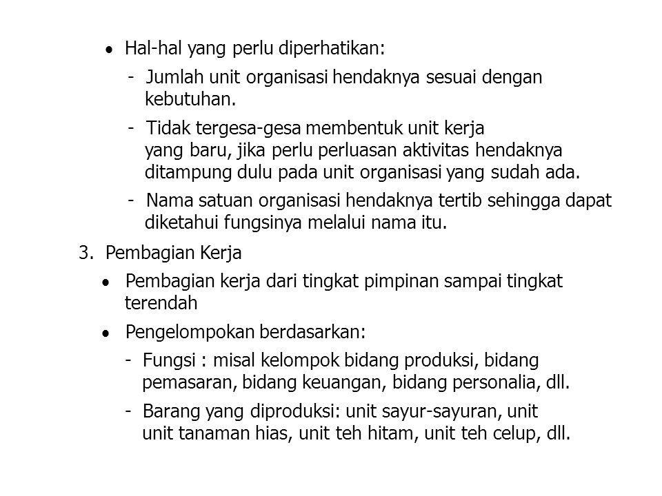  Hal-hal yang perlu diperhatikan: