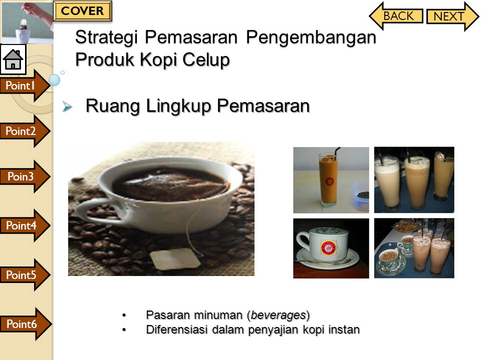 Strategi Pemasaran Pengembangan Produk Kopi Celup