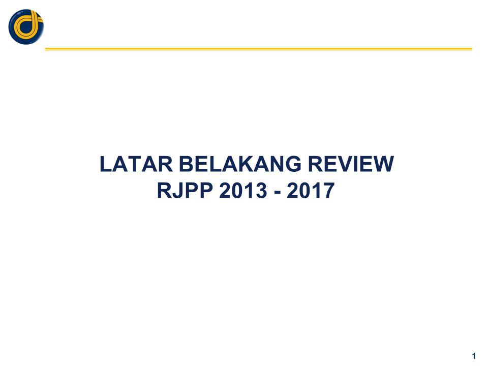 LATAR BELAKANG PENYUSUNAN RJPP 2013 - 2017