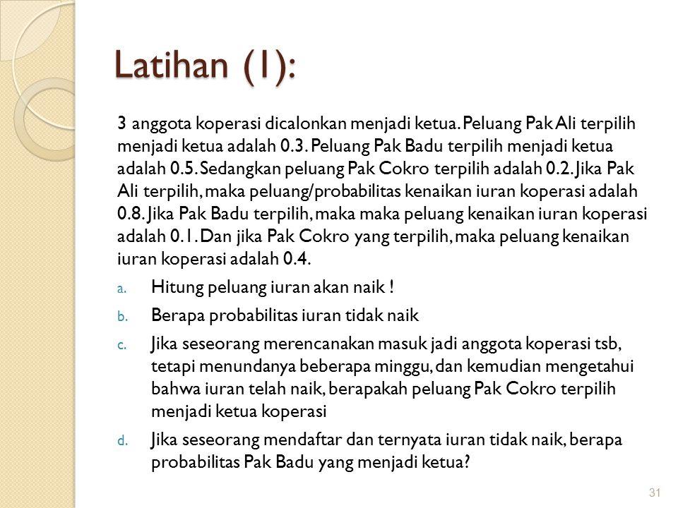 Latihan (1):