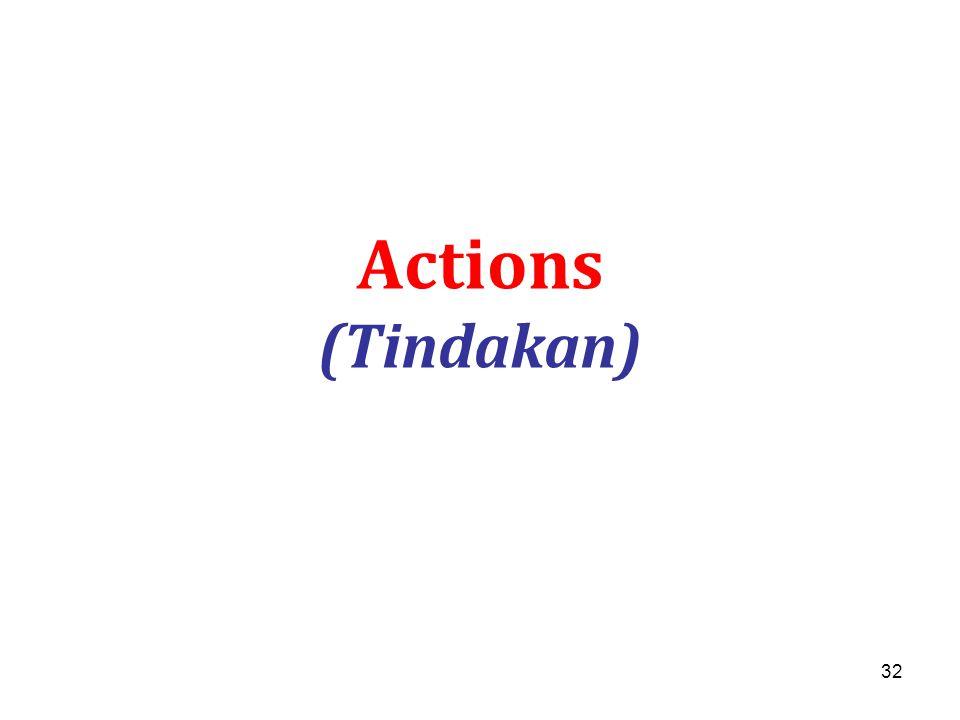 Actions (Tindakan)