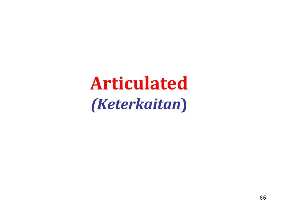 Articulated (Keterkaitan)