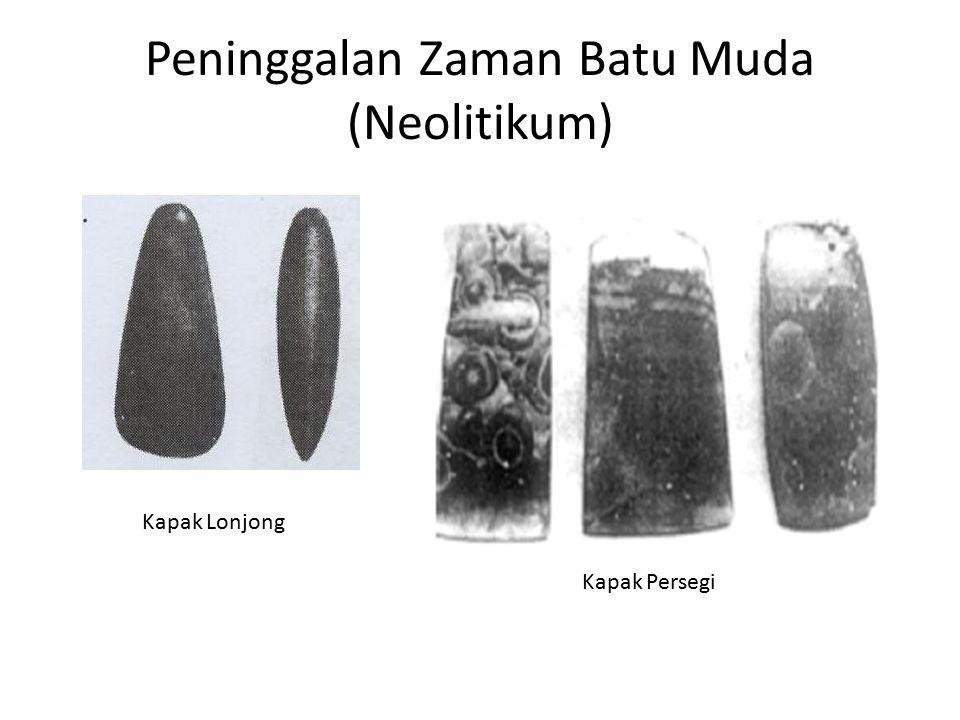Peninggalan Zaman Batu Muda (Neolitikum)