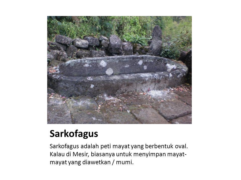 Sarkofagus Sarkofagus adalah peti mayat yang berbentuk oval.