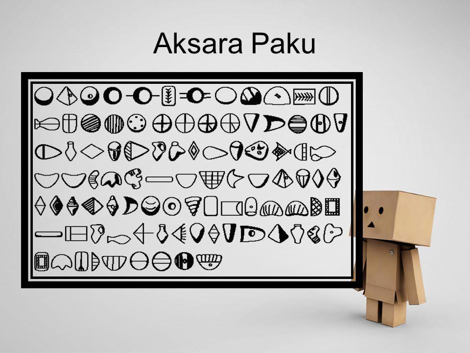 Aksara Paku