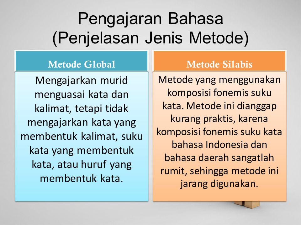 Pengajaran Bahasa (Penjelasan Jenis Metode)