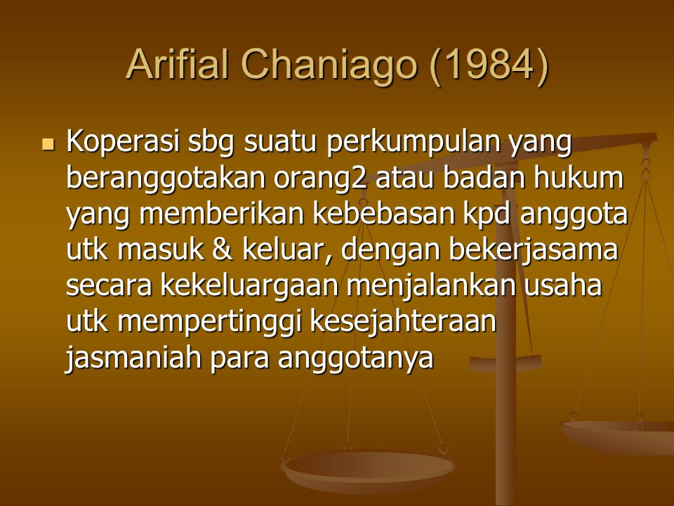Arifial Chaniago (1984)