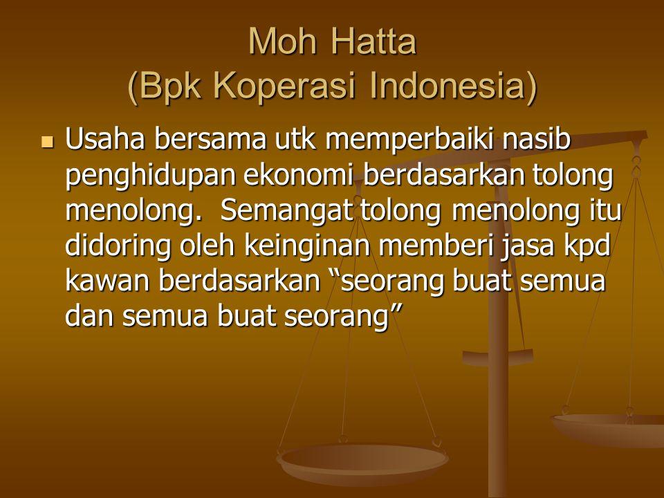 Moh Hatta (Bpk Koperasi Indonesia)
