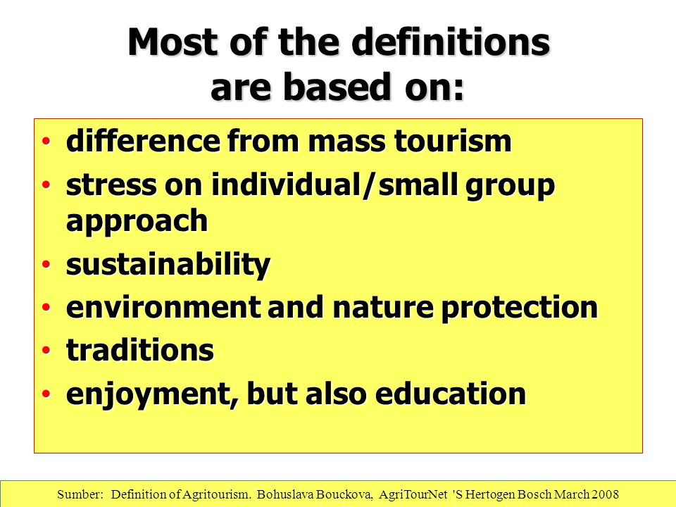 Most of the definitions are based on: