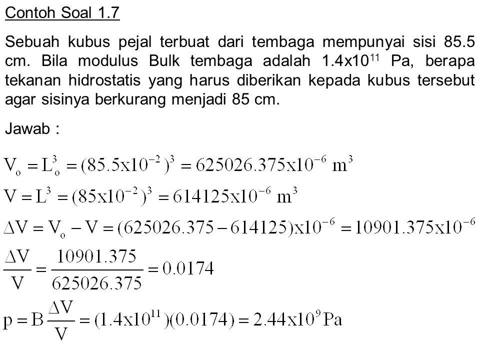 Contoh Soal 1.7