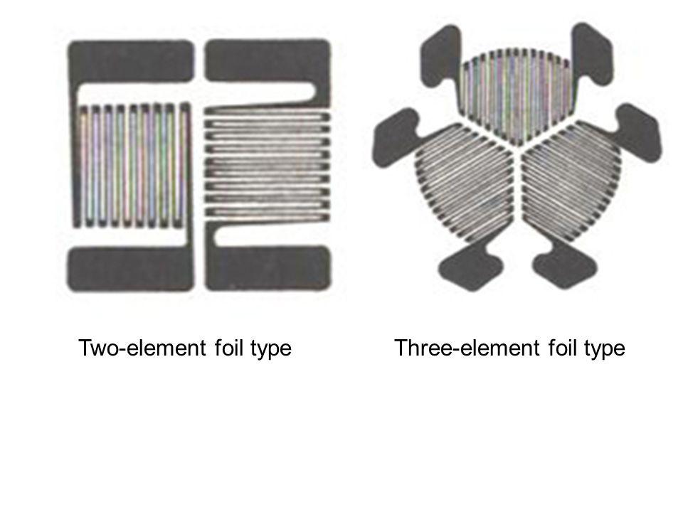 Three-element foil type