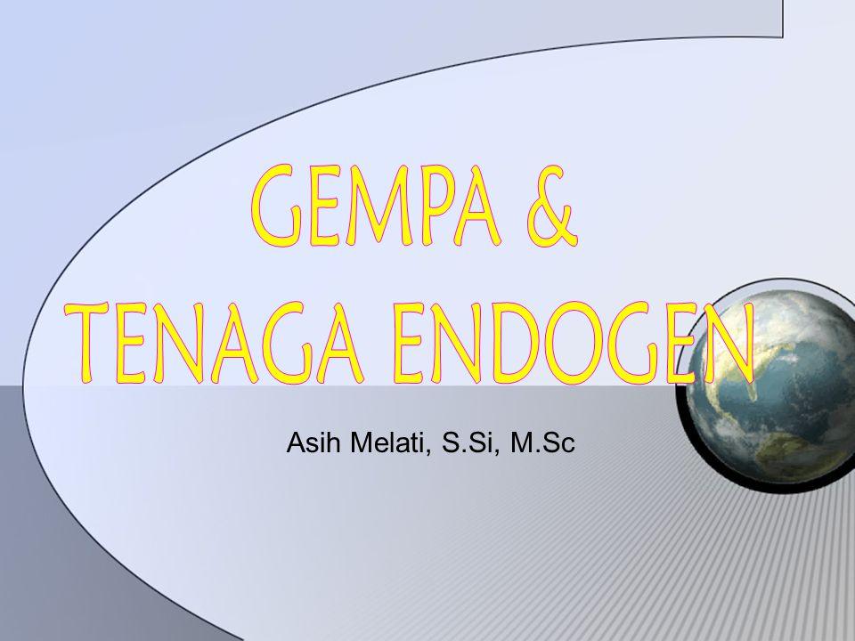 GEMPA & TENAGA ENDOGEN Asih Melati, S.Si, M.Sc