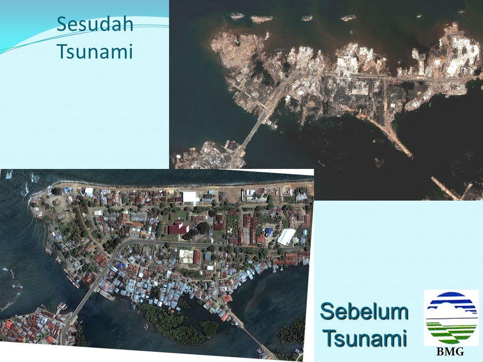 Sesudah Tsunami BMG Sebelum Tsunami