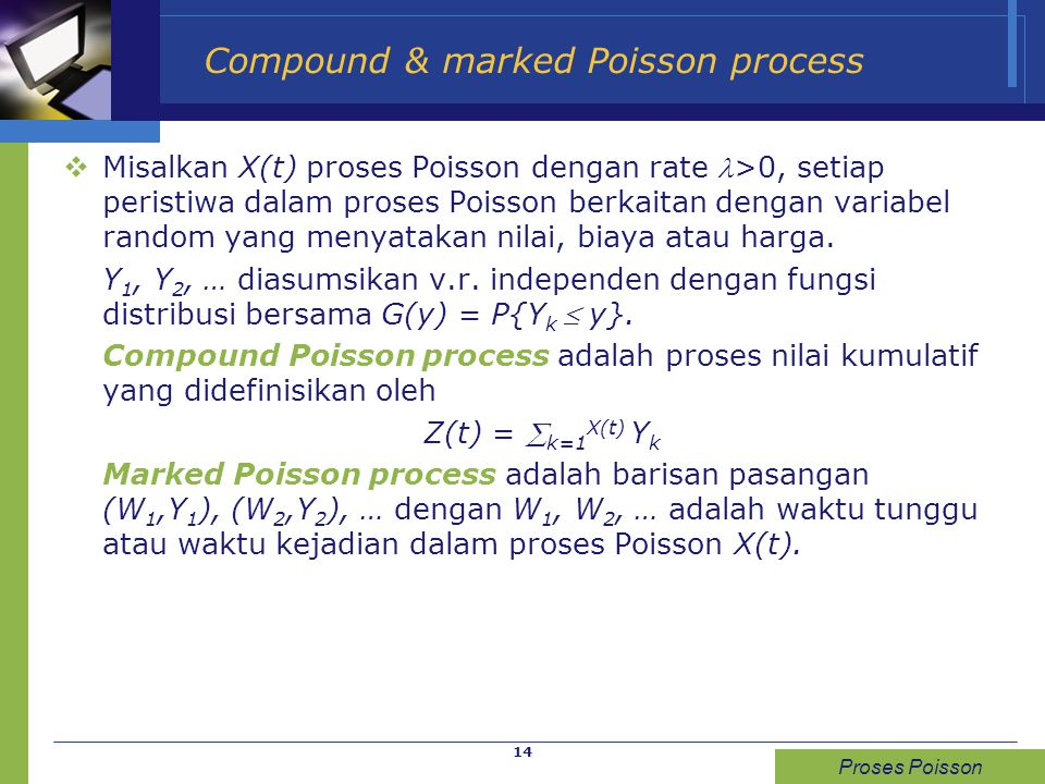 Compound & marked Poisson process