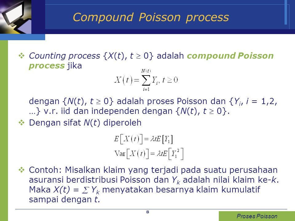 Compound Poisson process
