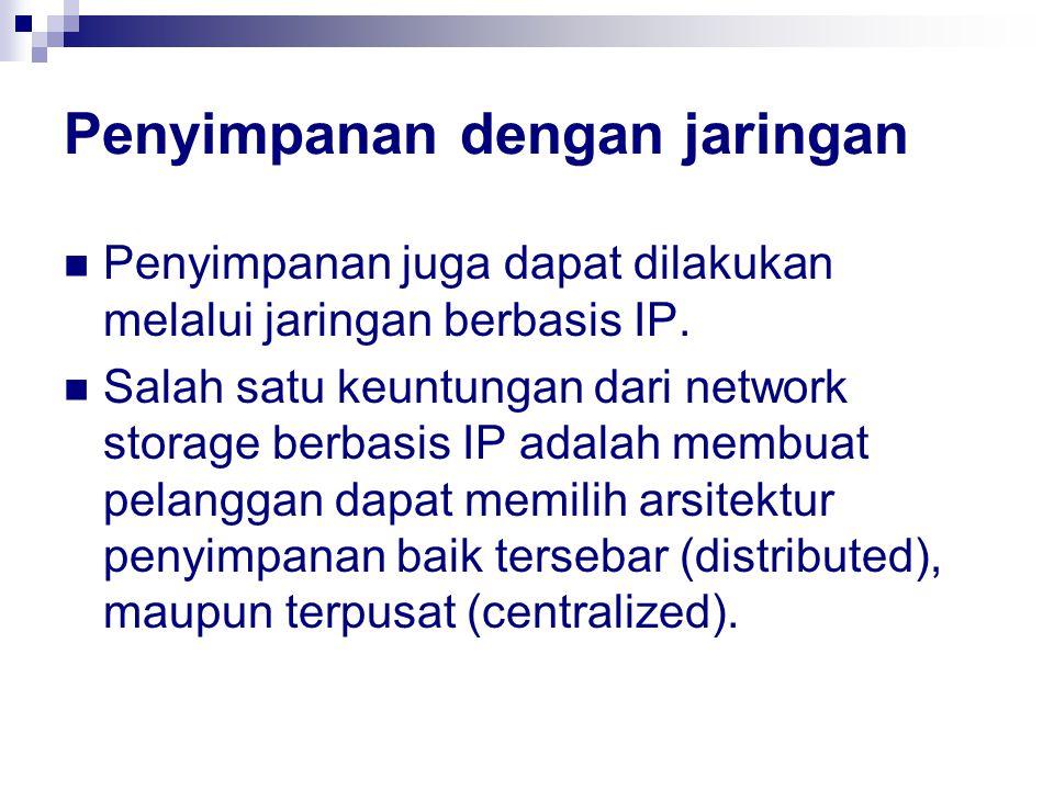 Penyimpanan dengan jaringan
