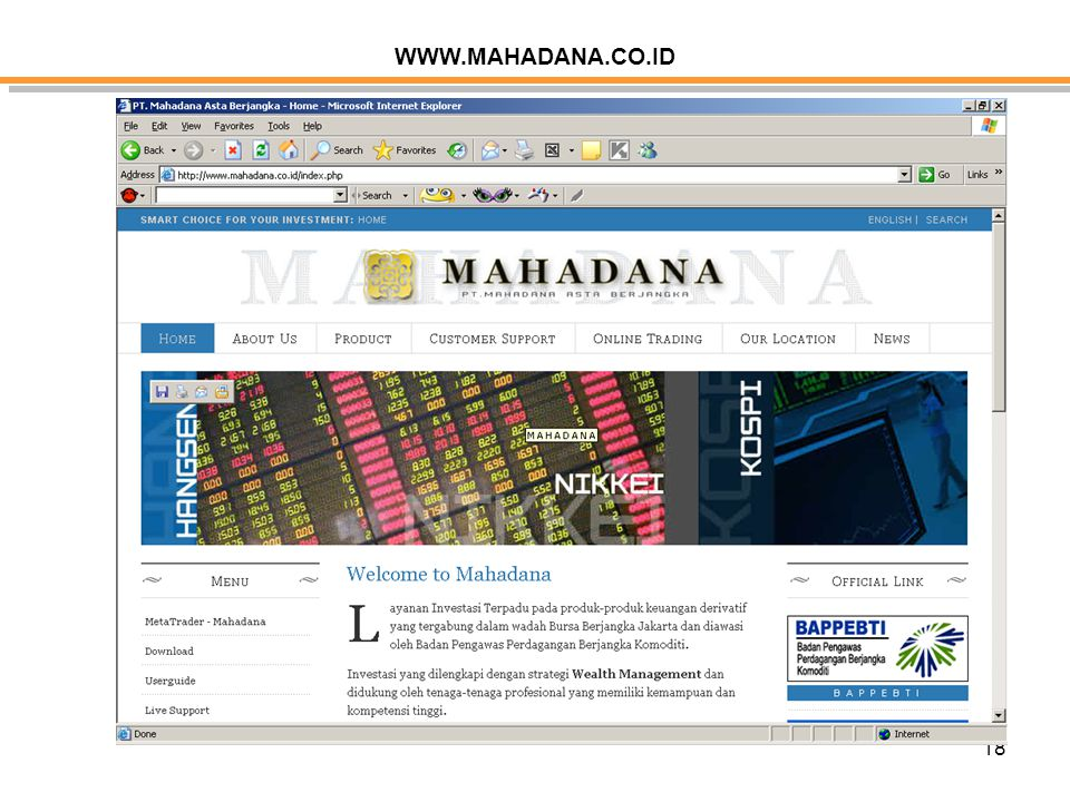 WWW.MAHADANA.CO.ID