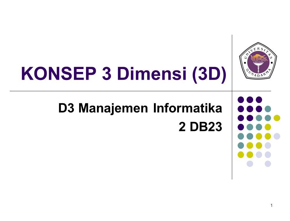 D3 Manajemen Informatika 2 DB23