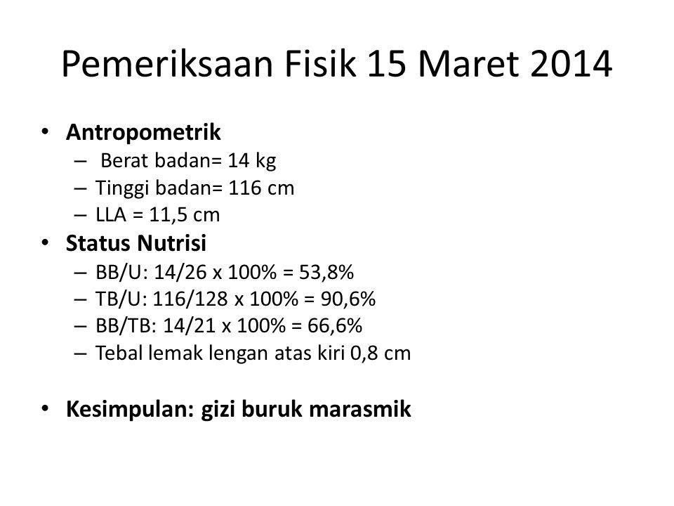 Pemeriksaan Fisik 15 Maret 2014