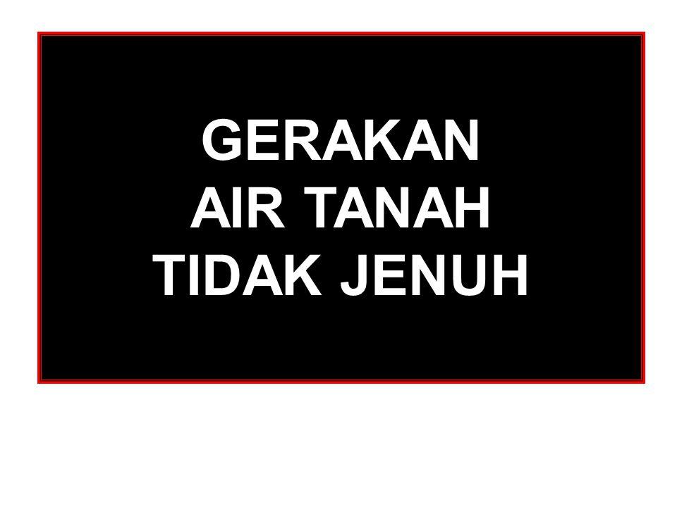 GERAKAN AIR TANAH TIDAK JENUH