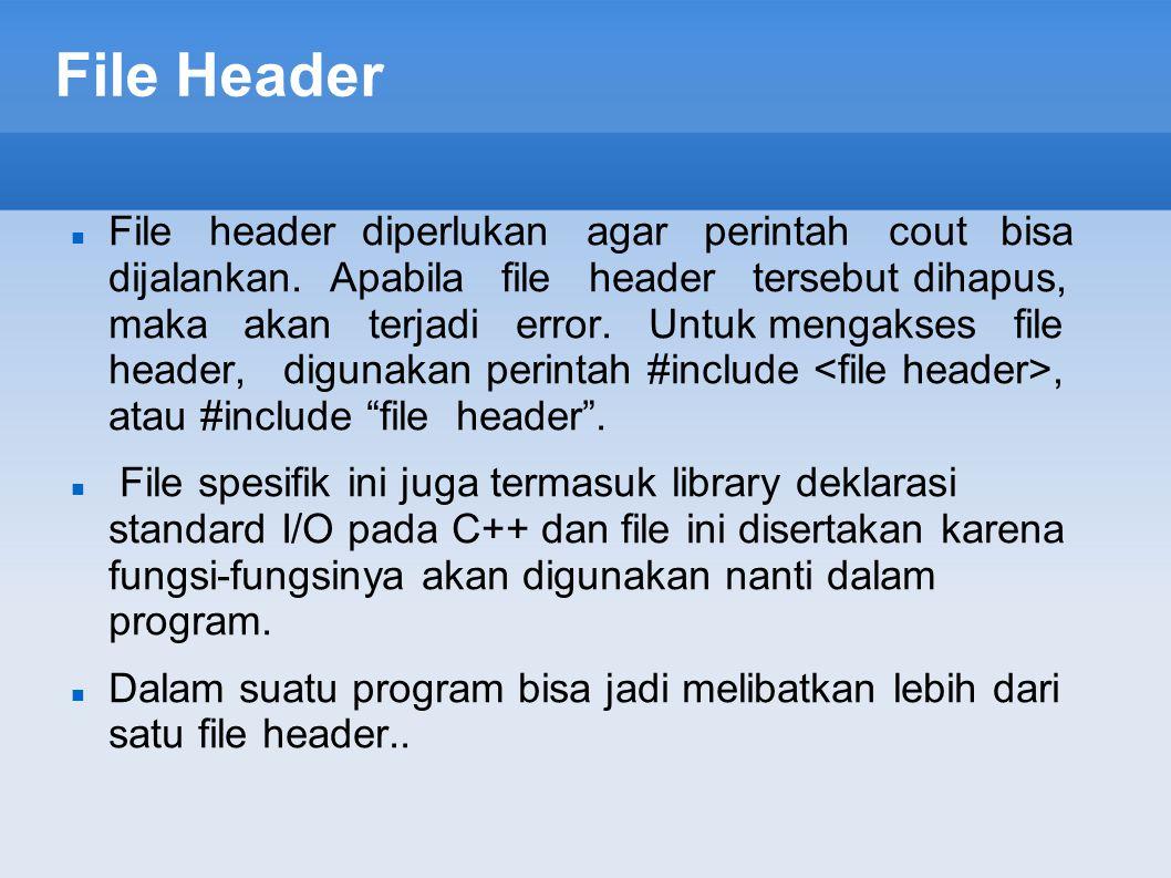 File Header