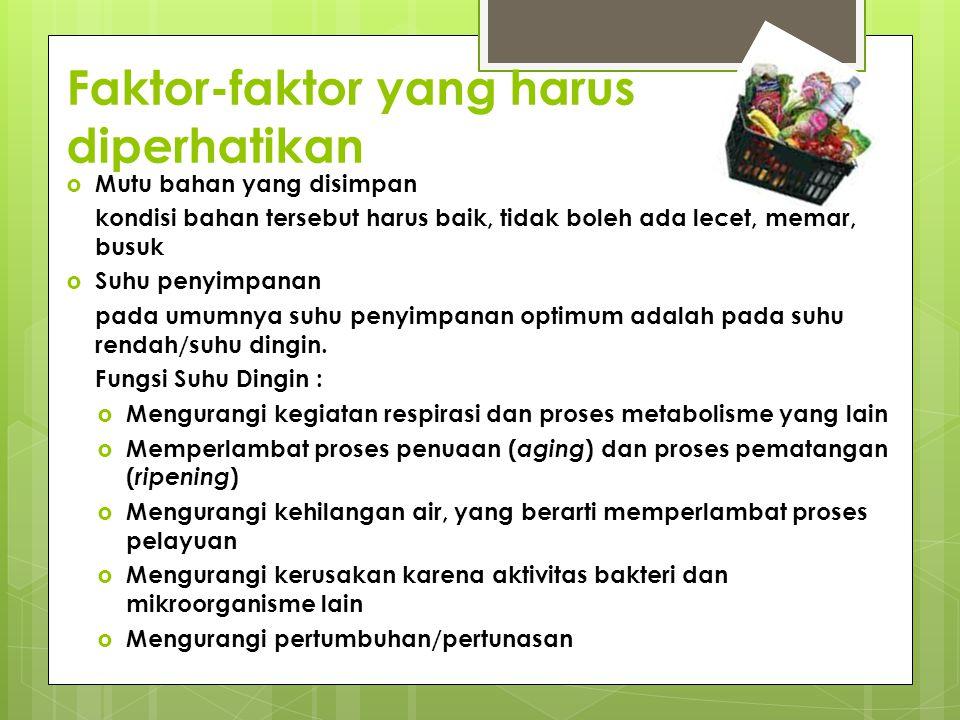 Faktor-faktor yang harus diperhatikan