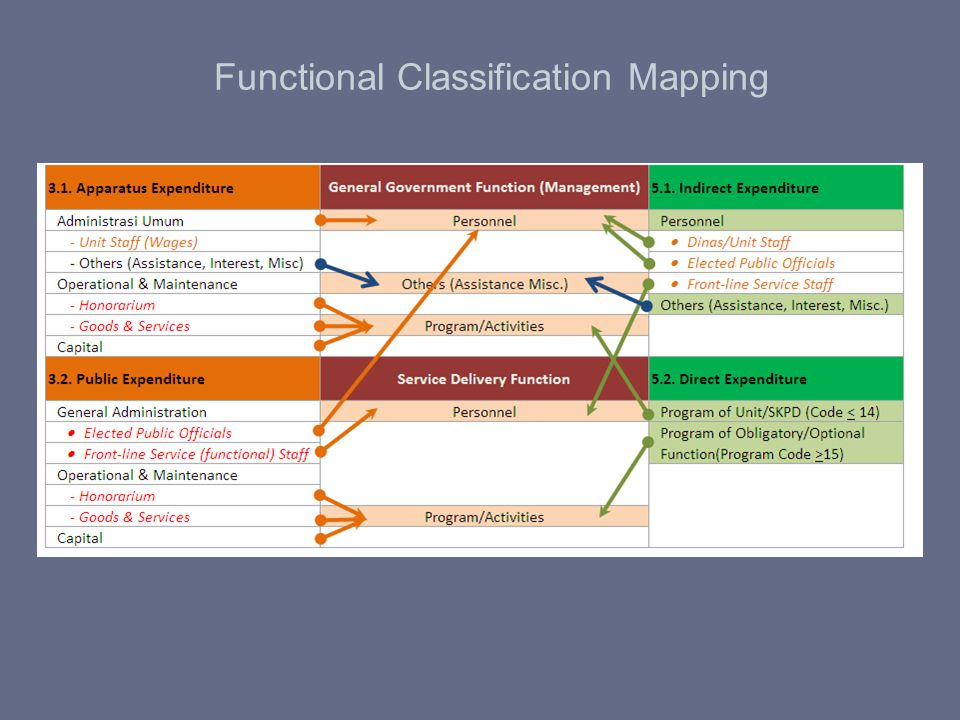 Functional Classification Mapping