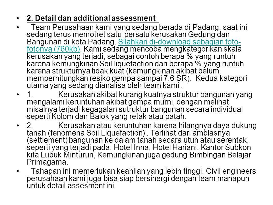 2. Detail dan additional assessment