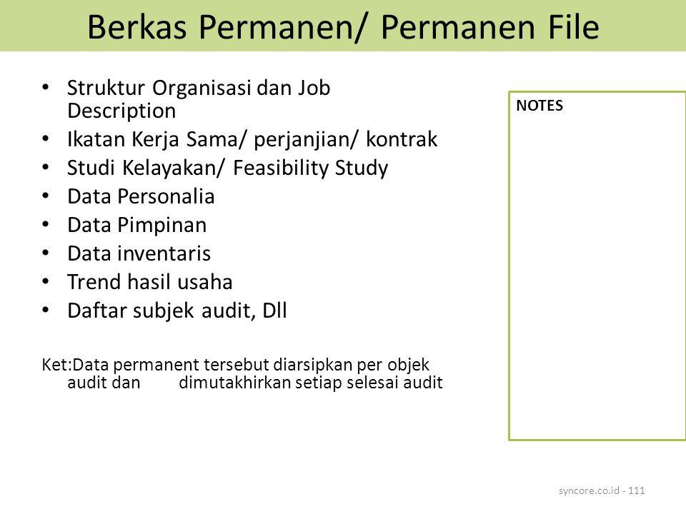 Berkas Permanen/ Permanen File