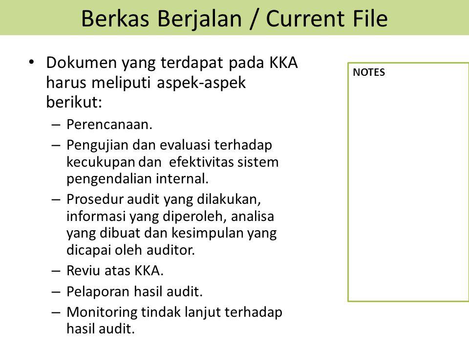 Berkas Berjalan / Current File