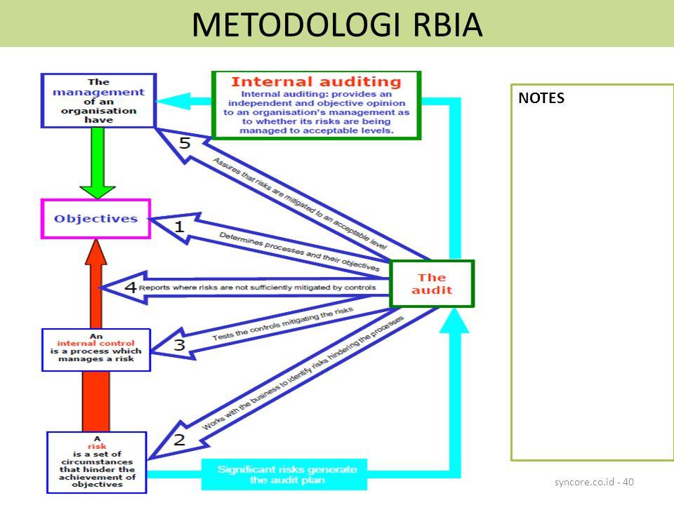 METODOLOGI RBIA NOTES