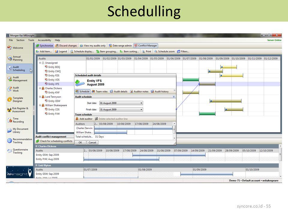 Schedulling